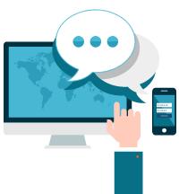 Hospedagem de sites com servidores no Brasil e atendimento personalizado.